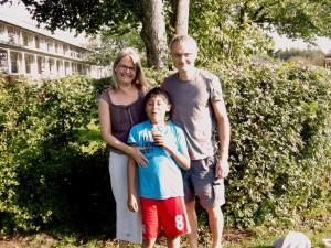 Nanna, Jakob og Martin